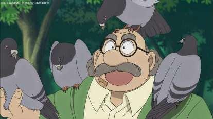 純黒の悪夢 博士と鳩