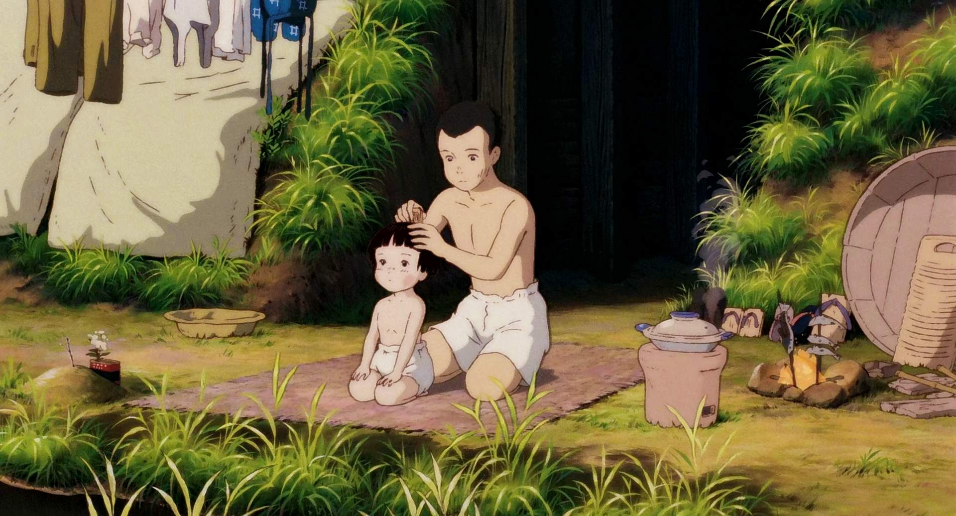 GraveoftheFireflies-Movie1988-SS5-O Grave of the Fireflies Movie Review