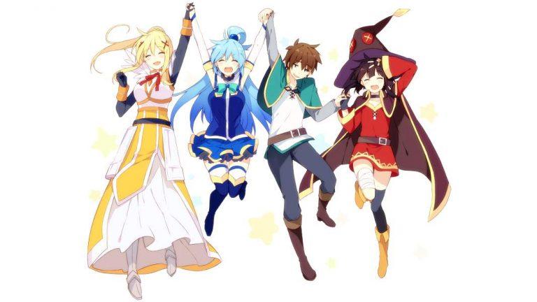 Konosuba-WP18-600-768x432 Anime by Genre