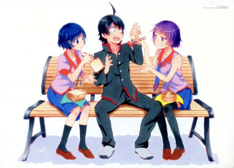 Monogatari-WP17-O-768x554 Monogatari Season 1 - Part 1 Review