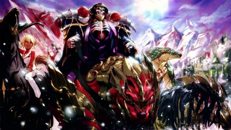 Overlord-WP11-600-768x432 Anime by Genre