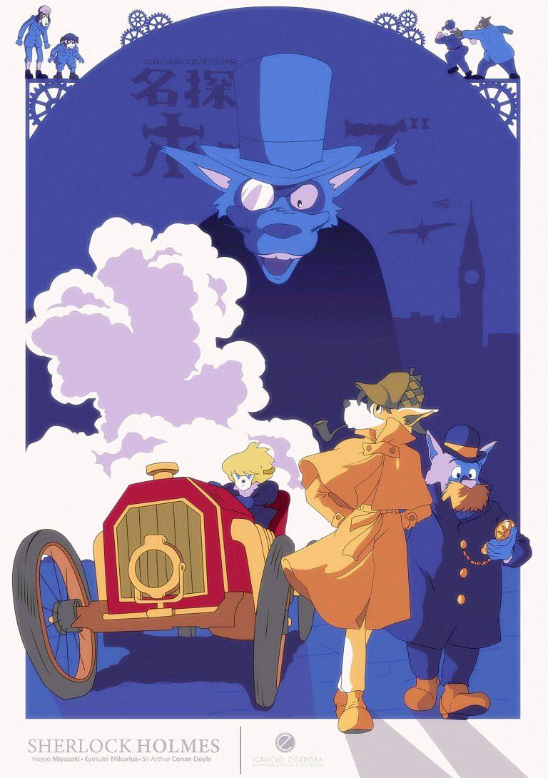 SherlockHound-WP2-O-768x1090 Sherlock Hound Season 1 Review