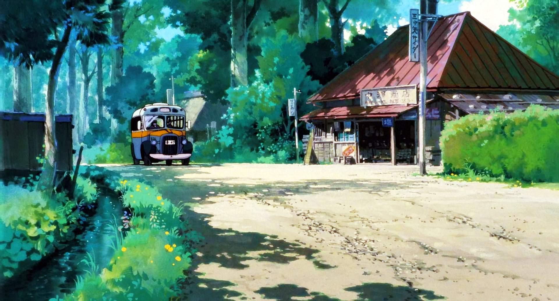 Totoro-Movie1988-SS1-O My Neighbor Totoro Movie Review
