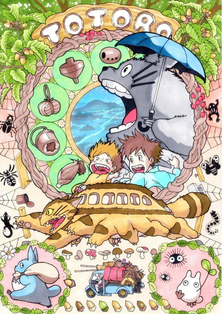 Totoro-WP22-O-768x1088 My Neighbor Totoro Movie Review
