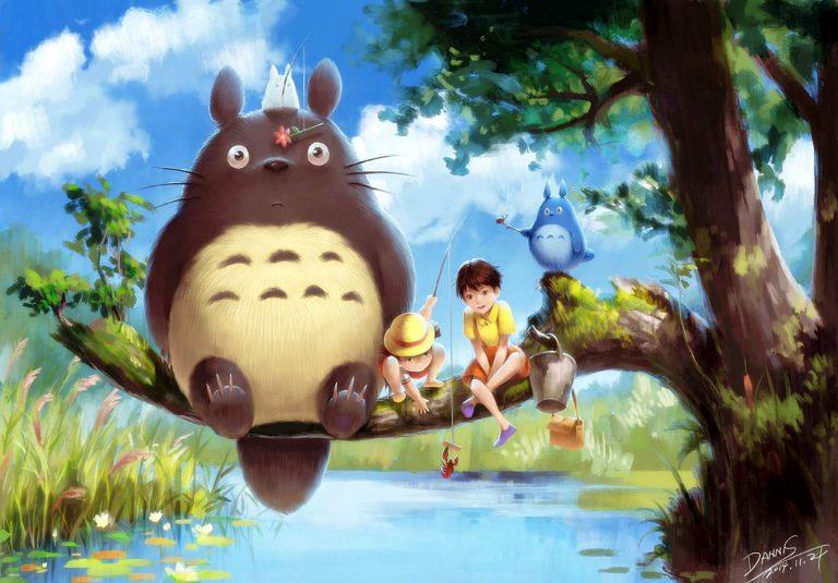Totoro-WP3-O-768x535 My Neighbor Totoro Movie Review