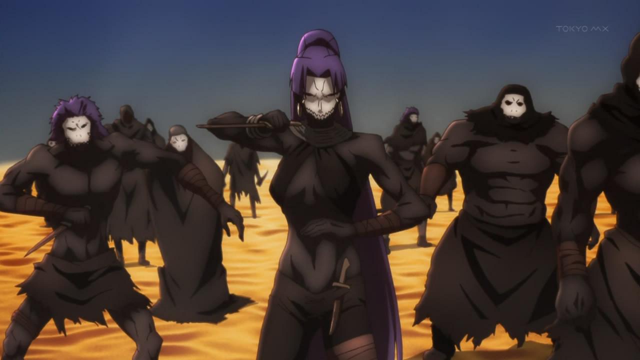 Image result for fate servants  assassin zero