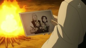 family portrait from Fullmetal Alchemist Brotherhood 36