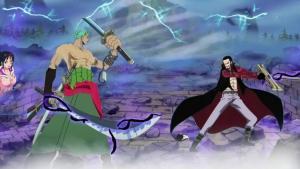 海賊王:索隆未來的4大對手,斬龍成就威名,擊敗鷹眼成為劍豪?