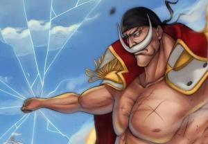 海賊王:白胡子帥氣壁紙!最強男人的憤怒,會讓整個世界陷入搖晃。