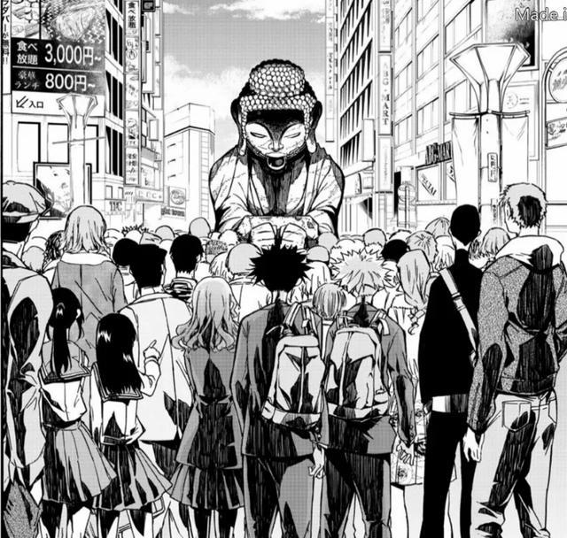 一群佛像就攻佔了東京?這漫畫真會玩