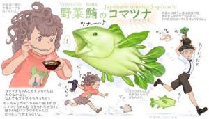 日本畫師把蔬菜和動物結合在一起,沒想到這麽可愛,還忍心吃麽?
