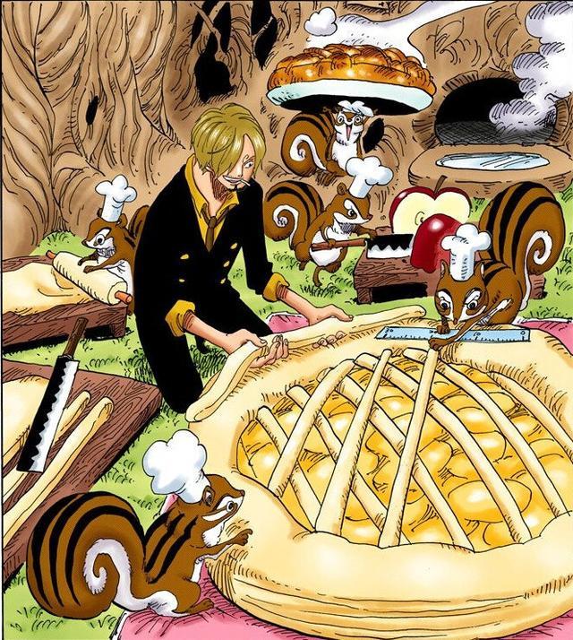 海賊王最強廚子山治的扉頁故事!除了做菜,山治還做這些事情