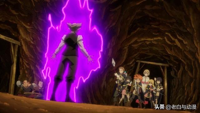 轉生史萊姆OAD4:萌王學生參加野外訓練,卻遭盜賊和妖魔伏擊