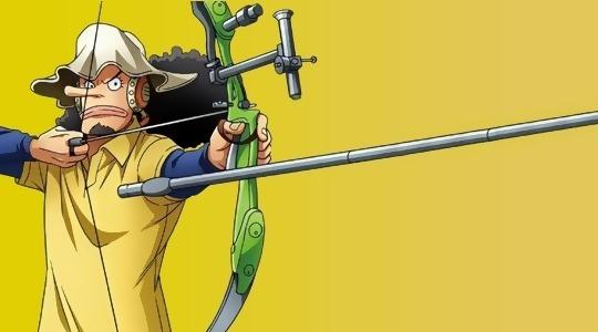 當草帽團走進運動場,烏索普拉弓很專業,羅賓打台球的姿勢太撩人