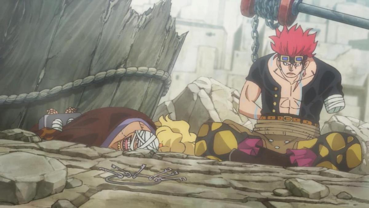 海賊王949:路飛感染木乃伊,忍痛大秀嘴遁神技和預見型見聞色