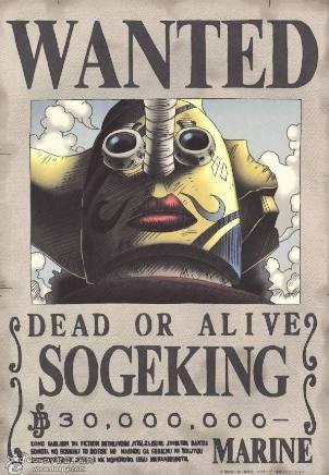 海賊王:看不出本人的5張懸賞令,有的戴面具,有的穿盔甲