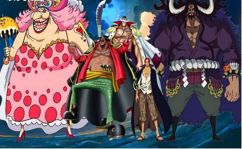 海賊王:6場四皇之間的碰撞,香克斯面子大,凱多不敵白胡子