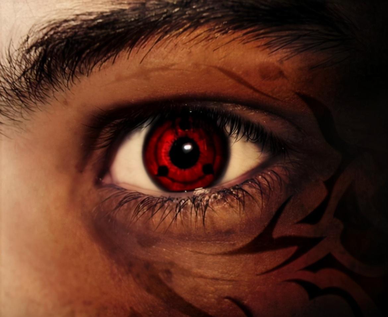 當火影裡的特殊眼睛來到現實,寫輪眼每個都好帥,白眼我欣賞不來
