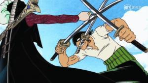 Read more about the article 海賊王:6場不自量力的挑戰,索隆挑戰鷹眼,基德招惹紅发