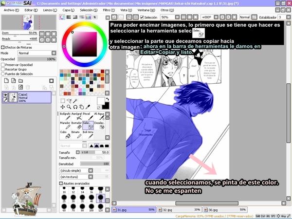 Paint Tool SAI Tutorial - Explicado en Español (1/6)