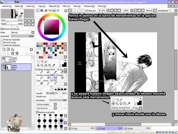 Paint Tool SAI Tutorial - Explicado en Español (3/6)