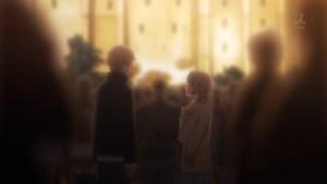 葉山隼人と一色いろはのツーショットの図