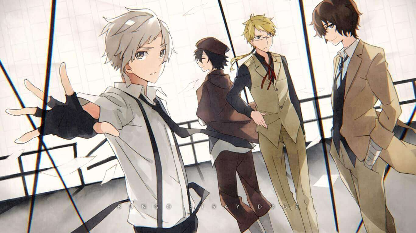 Bungou Stray Dogs (S1) BD Subtitle Indonesia Batch (Episode 01-12)