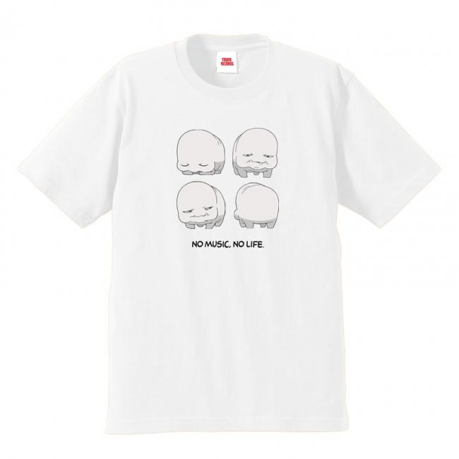 『センコロール コネクト× TOWER RECORDS』コラボTシャツ(FRONT)