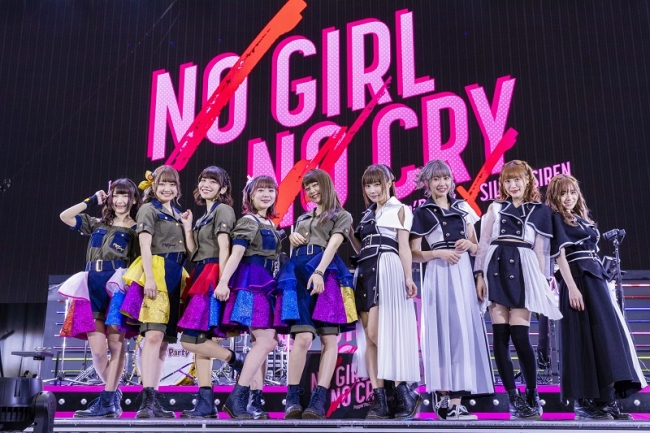 Poppin'Party×SILENT SIREN「NO GIRL NO CRY」2DAYS終了!