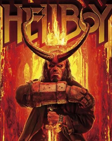 アメコミ最大にして最強のダークヒーロー『ヘルボーイ』が4K ULTRA HD&Blu-ray&DVDで2020年2月4日に発売決定!初回限定特典として【日本未発表】のコミックブックを収録!