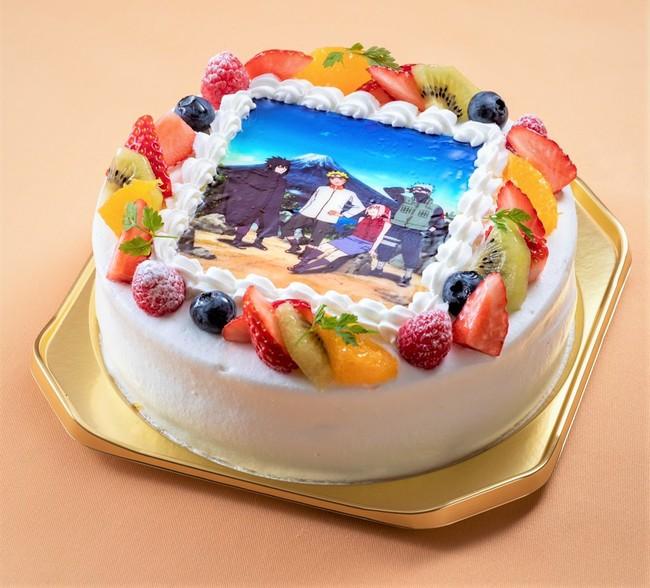 NARUTO第七班プリントケーキ