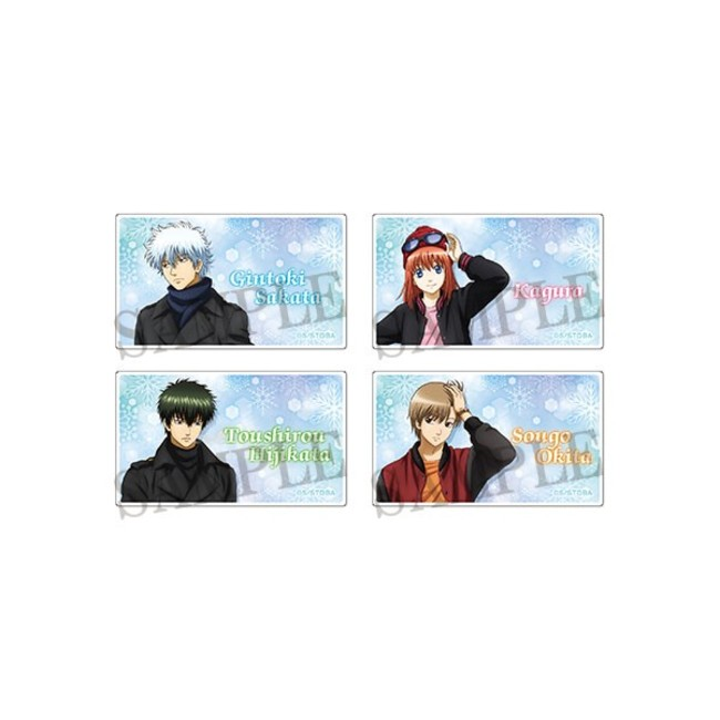 アクリルバッジコレクション/冬ver.(全4種)