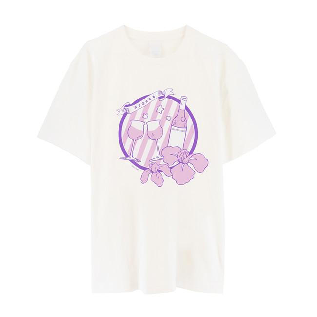 キャラクターイメージTシャツ(フランス)