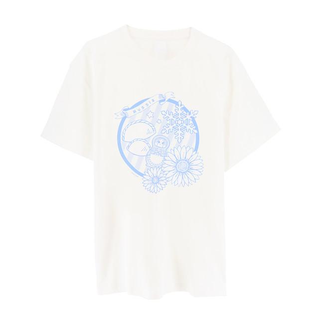 ・キャラクターイメージTシャツ(ロシア)