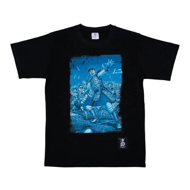Tシャツ ブラック M・Lサイズ 各3,850円(税込) ©︎原泰久/集英社