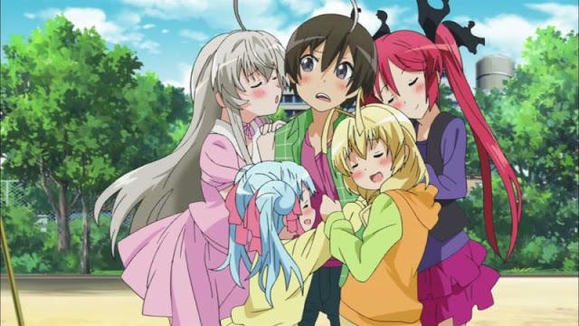 cowok anime harem