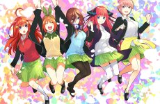 Anime Ost: Download Opening Ending Gotoubun no Hanayome
