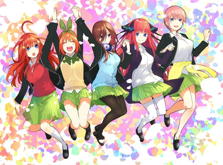 Anime Ost: Download Opening Ending Gotoubun no Hanayome