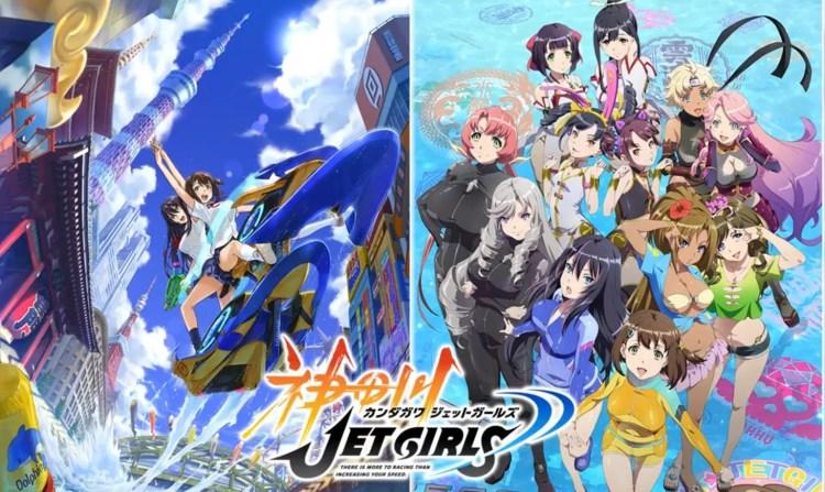 Anime Ost: Download Opening Ending Kandagawa Jet Girls