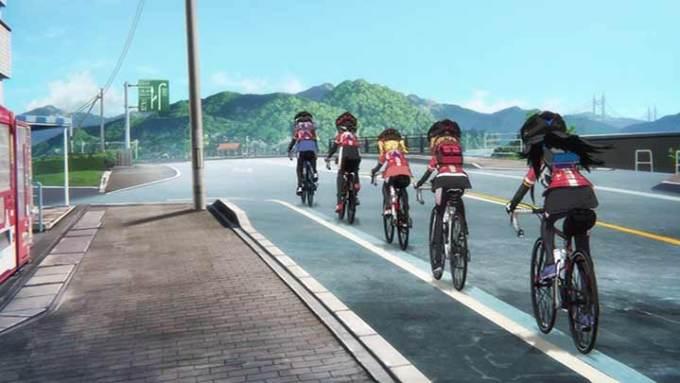 ろんぐらいだぁす! しまなみ海道サイクリングロード 青い線