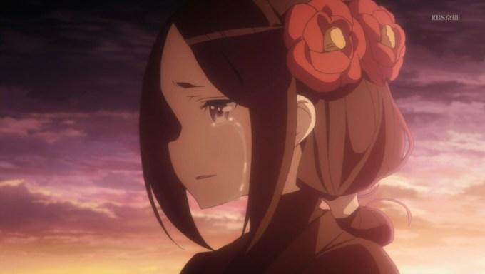 プリンセス・プリンシパル 涙を流すちせ