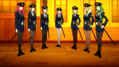 Fate_EXTRA police