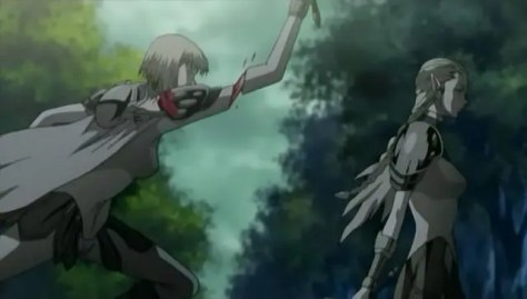 Look, you stupid Claymore, you got only one arm left