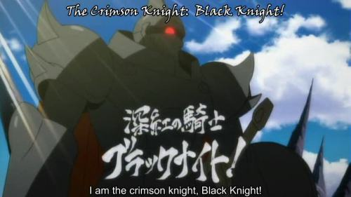 THE BLACK KNIGHT ALWAYS TRIUMPHS!