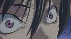 Lelouch has some crazy eyes