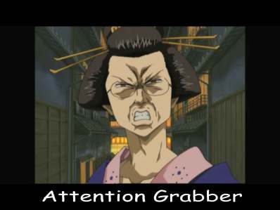 attention-grabber