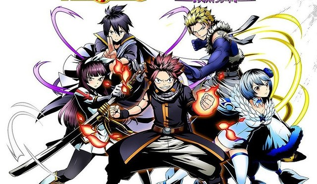 "Over 20 Playable ""Fairy Tail"" Characters Featured in RPG Game ""Divine Gate"""