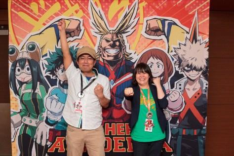Kenji Nagasaki and Wakana Okamura