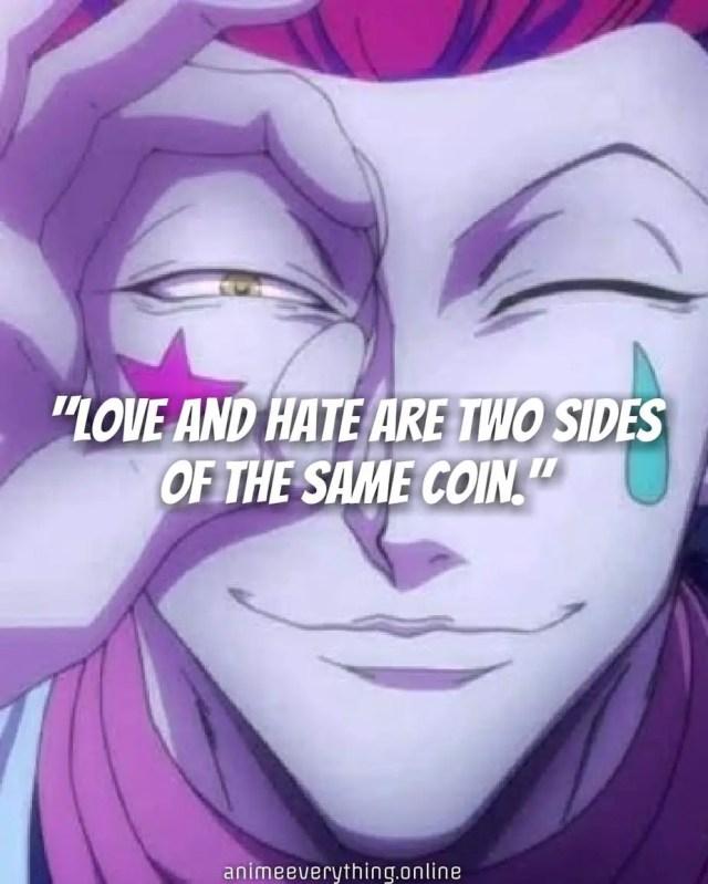HxH quotes - Hisoka