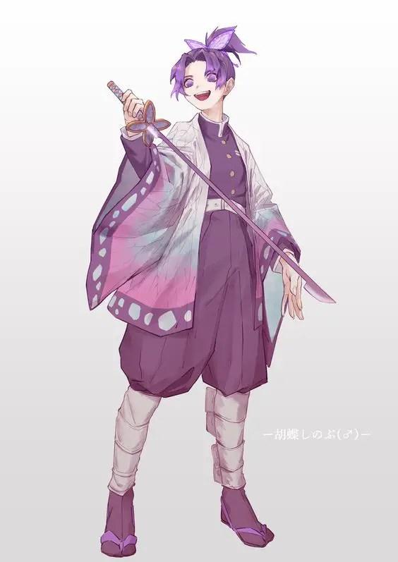 Shinobu genderbend - Kimetsu no yaiba